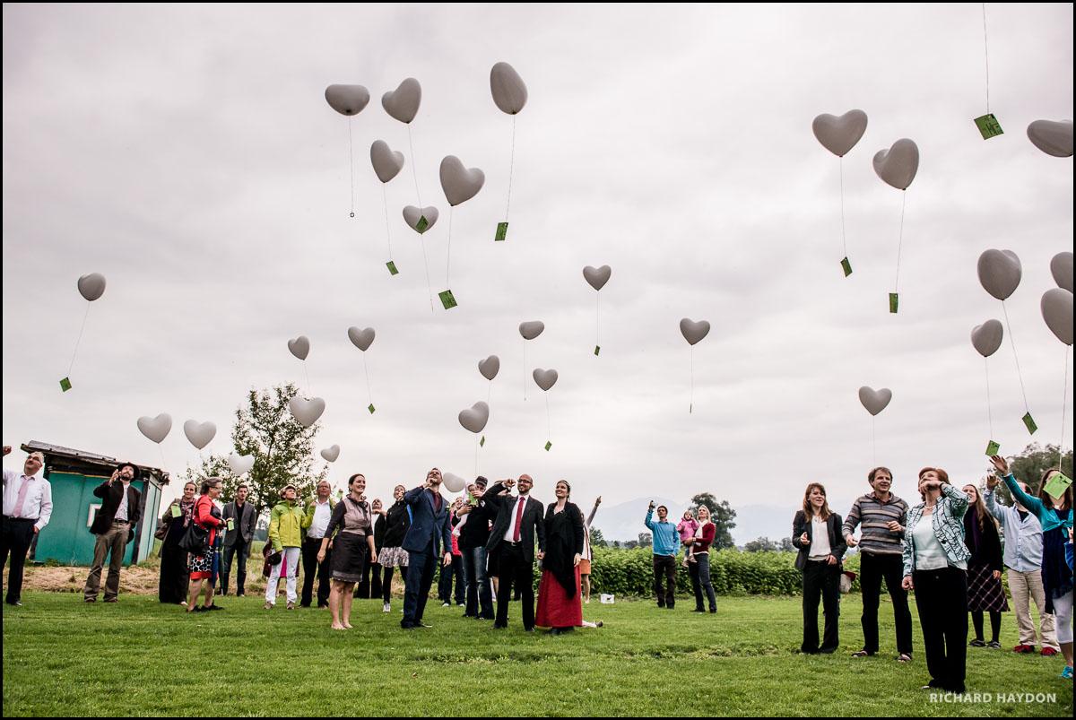 Hochzeitsballons in Liechtenstein