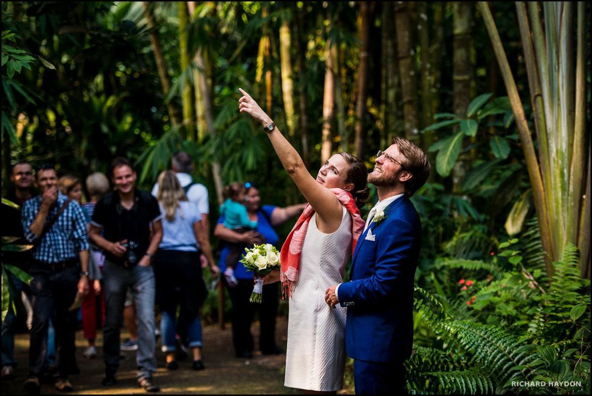 Hochzeit in der Masoala-Halle im Zoo Zürich