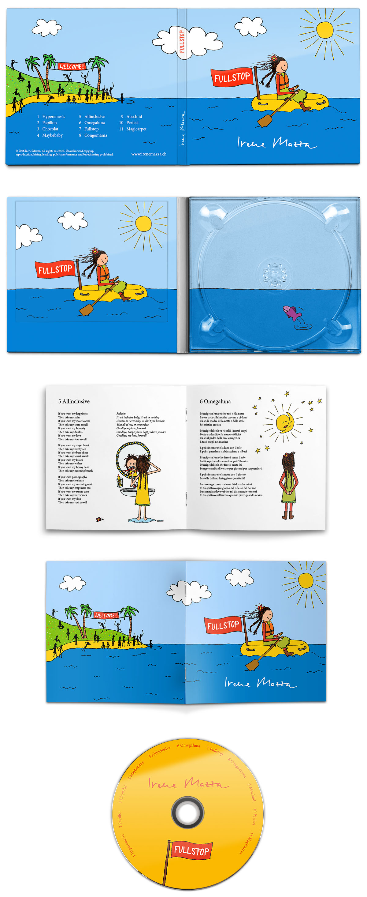 CD-Gestaltung Irene Mazza