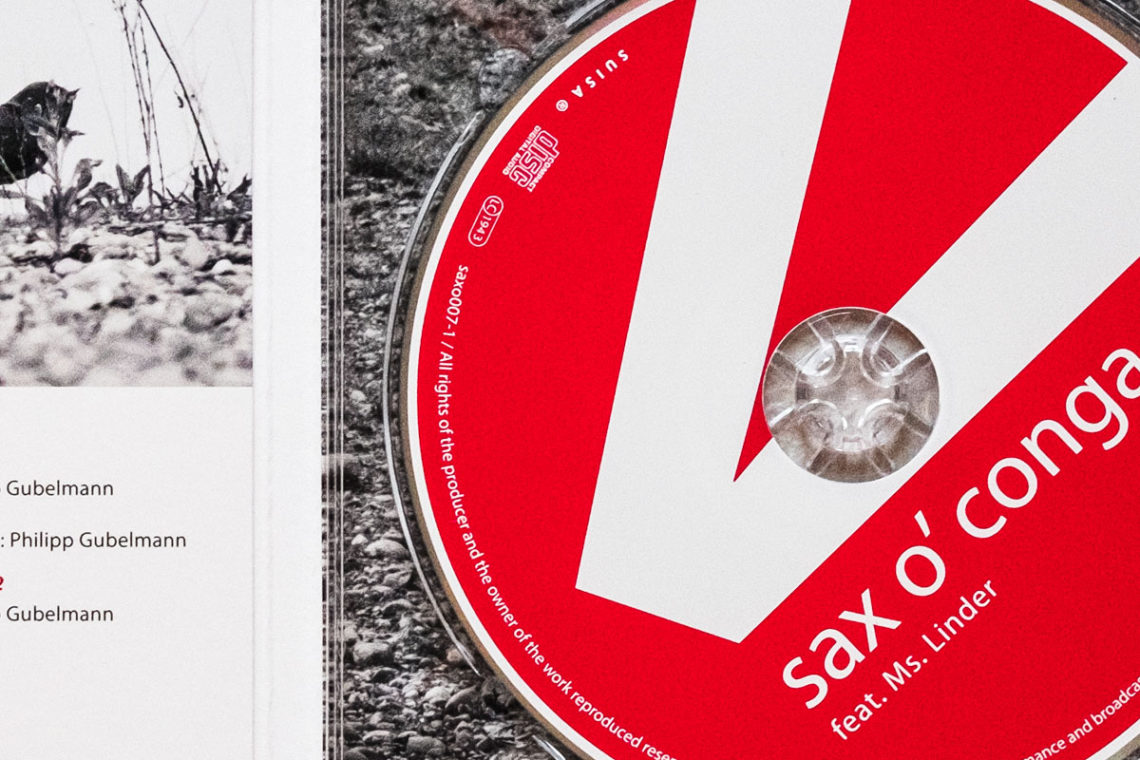 CD-Grafik sax o' conga