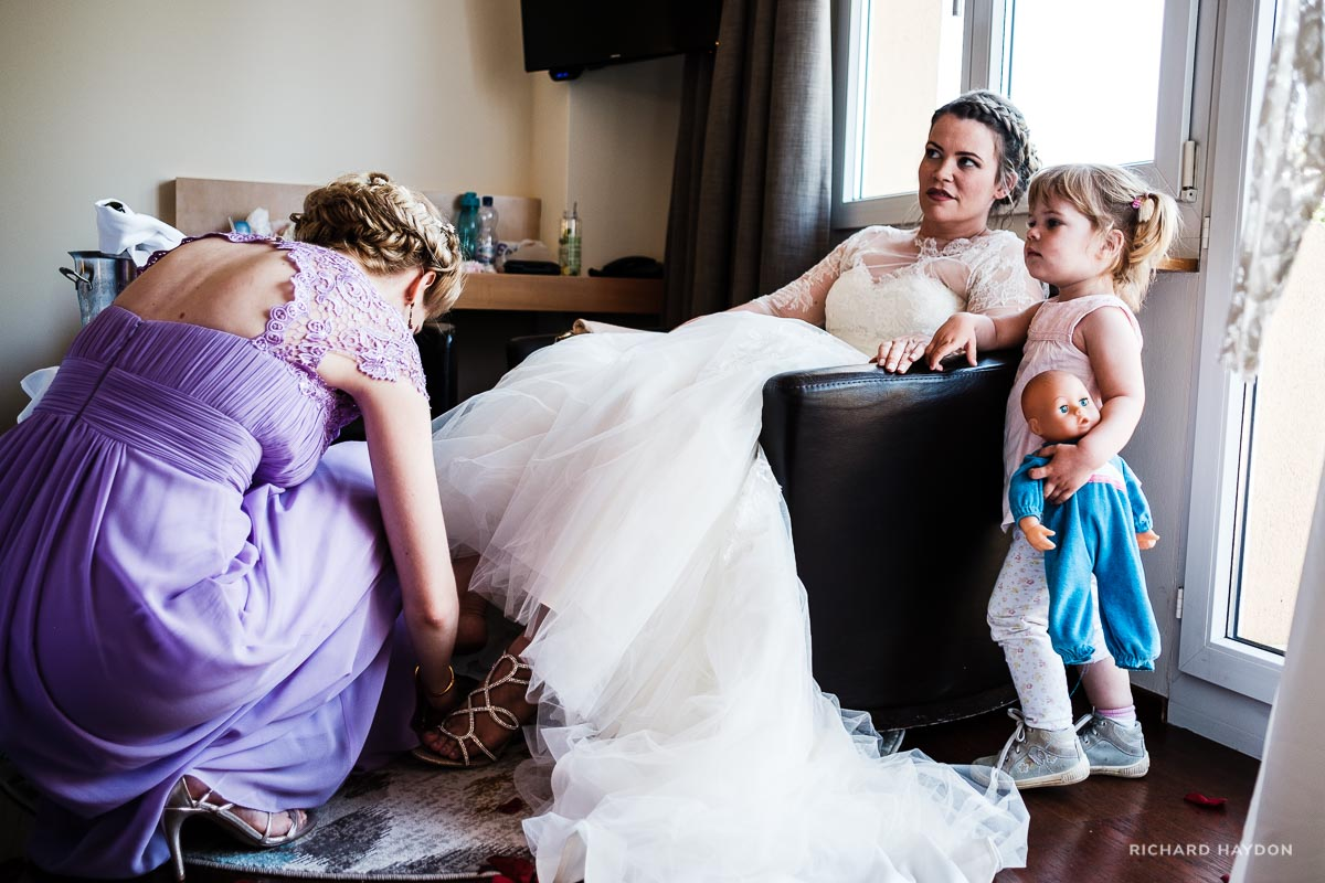 Brautvorbereitungen Hochzeit Uetliberg Uto Kulm