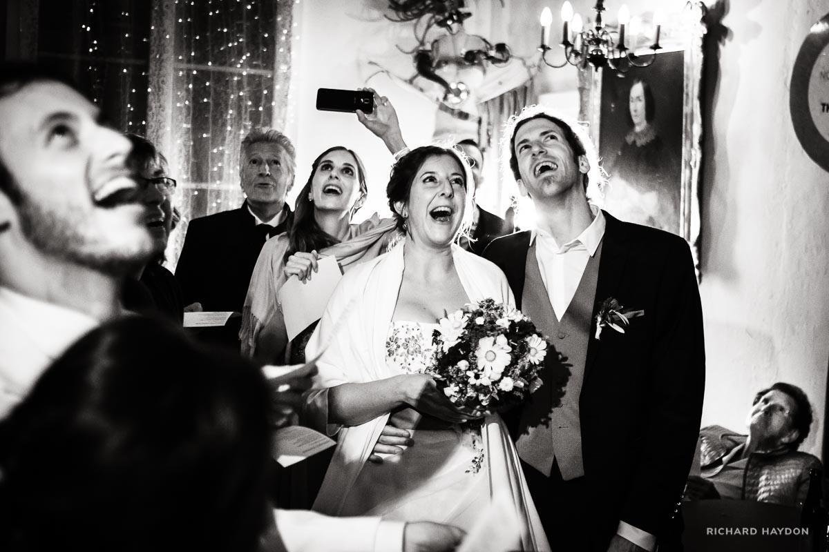 Hochzeitsfeier in Luzern