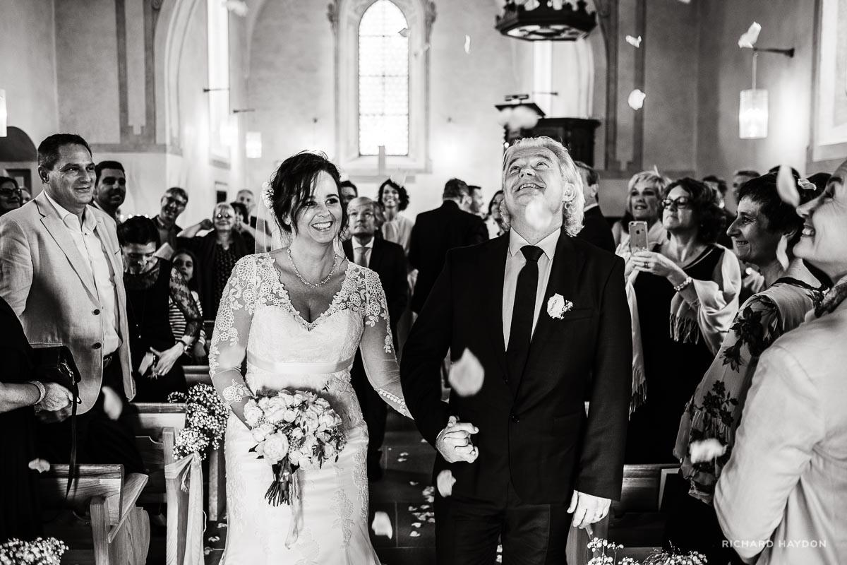 Hochzeitsfotos-Zug-Brautpaar