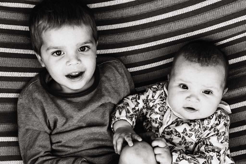 Meine Kinder Josha und Lya
