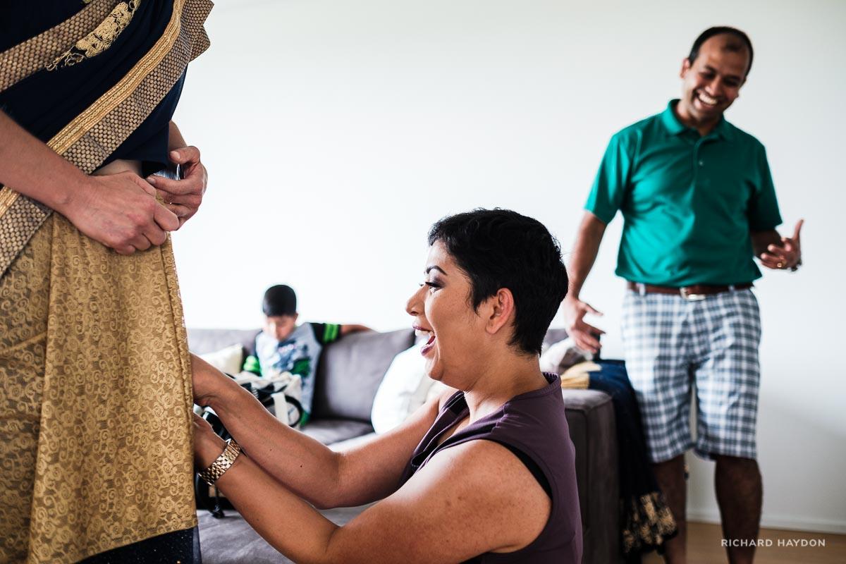 Vorbereitungen indische Hochzeit