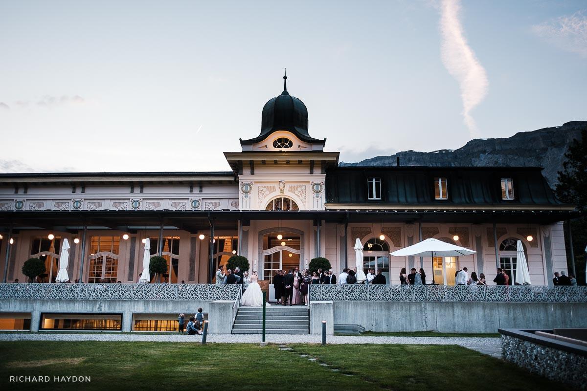 Waldhaus Flims Hochzeit